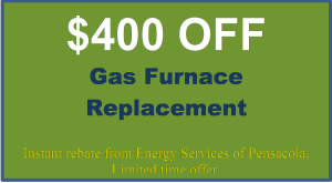 $400 off Gas Furnace Replacement